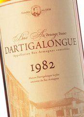 Armagnac Dartigalongue 1982