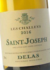 Delas St Joseph Les Challeys blanc 2016
