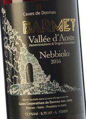 Caves de Donnas Nebbiolo Barmet 2017