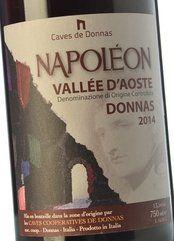 Caves de Donnas Donnas Napoléon 2014