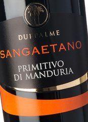 Due Palme Primitivo di Manduria SanGaetano 2018