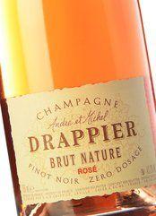 Drappier Brut Nature Zero Dosage Rosé