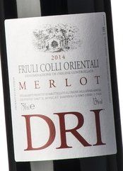 Dri Friuli Colli Orientali Merlot 2014