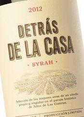 Detrás de la Casa Syrah 2012