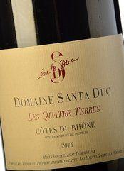 Domaine de Santa Duc Les Quatre Terres 2016