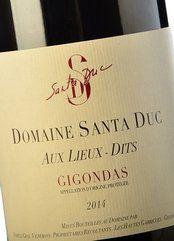 Domaine de Santa Duc Aux Lieux-Dits 2014