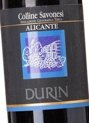 Durin Colline Savonesi Alicante 2016