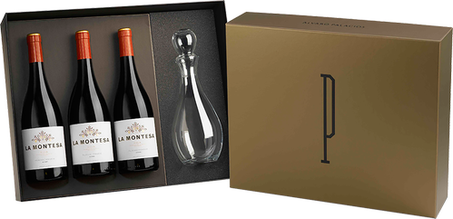 3 La Montesa Gift Box + Decanter