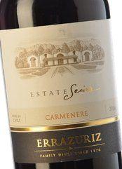 Errazuriz Estate Series Carménere 2017