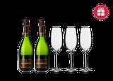 Agustí Torelló G. Reserva BN + 3 FREE wine glasses