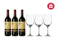 3 Tondonia Reserva + 3 FREE wine glasses