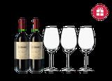 2 Corimbo 2015 + 3 FREE wine glasses