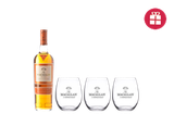 The Macallan Sienna + 3 FREE glasses