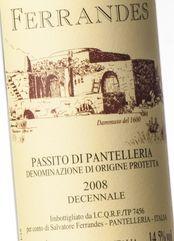 Ferrandes Pantelleria Decennale 2008 (37.5 cl)