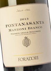 Foradori Fontanasanta Manzoni Bianco 2018