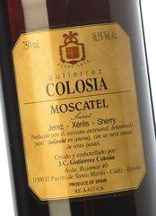 Gutiérrez Colosía Moscatel Soleado