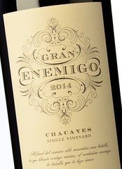 Gran Enemigo Chacayes Single Vineyard 2014