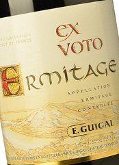 E. Guigal Ex Voto Ermitage Rouge 2012