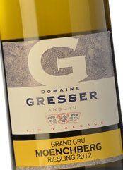 Gresser Grand Cru Moenchber Riesling 2012