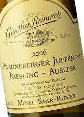 Günther Steinmetz Brauneberger Juffer Auslese 2006