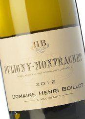 Henri Boillot Puligny Montrachet 2012