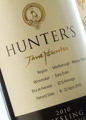 Hunter's Riesling 2018