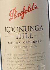 Penfolds Koonunga Hill Shiraz-Cabernet 2015