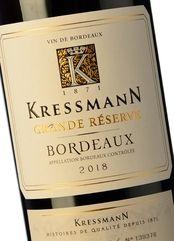 Kressmann Bordeaux Rouge Grande Réserve 2018