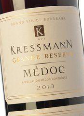 Kressmann Médoc Grande Réserve 2016