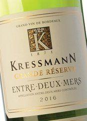 Kressmann Entre Deux Mers Grande Réserve 2016