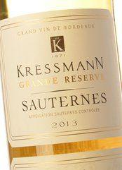 Kressmann Sauternes Grande Réserve 2017