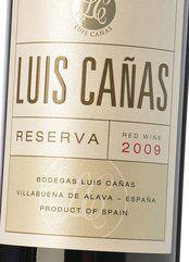Luis Cañas Reserva 2011