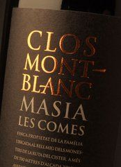 Clos Montblanc Masia Les Comes 2008