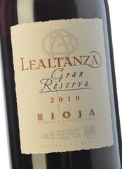 Lealtanza Gran Reserva 2010