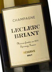 Leclerc Briant Brut Réserve 2014