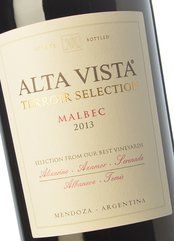 Alta Vista Terroir Selection Malbec 2015