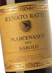 Renato Ratti Barolo Marcenasco 2015