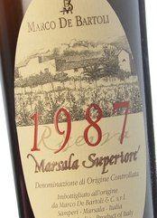 De Bartoli Marsala Superiore Oro Riserva 1987