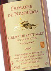 Verema de Sant Martí Vinya Roja 2005