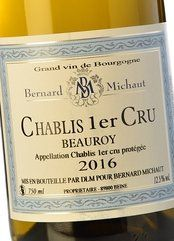 Bernard Michaut Chablis 1er Cru Beauroy 2017