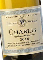 Bernard Michaut Chablis 2017