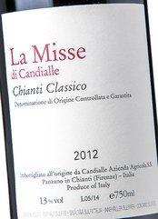 Candialle Chianti Classico La Misse 2014