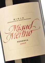 Miguel Merino Reserva 2012