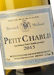 Bernard Michaut Petit Chablis 2018