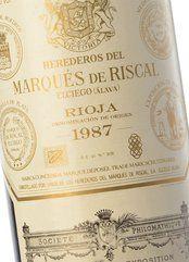 Marqués de Riscal 1987 [BN]