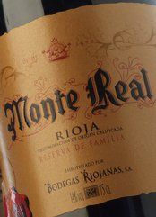 Monte Real Reserva Familia 2012
