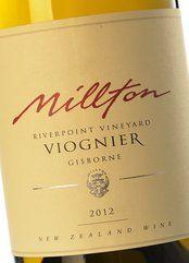 Millton Riverpoint Viognier 2012