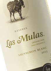 Las Mulas Sauvignon Blanc 2016