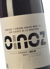 Oinoz Crianza 2014