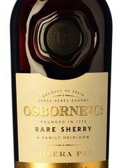 Osborne Rare Sherry Palo Cortado Solera PΔP